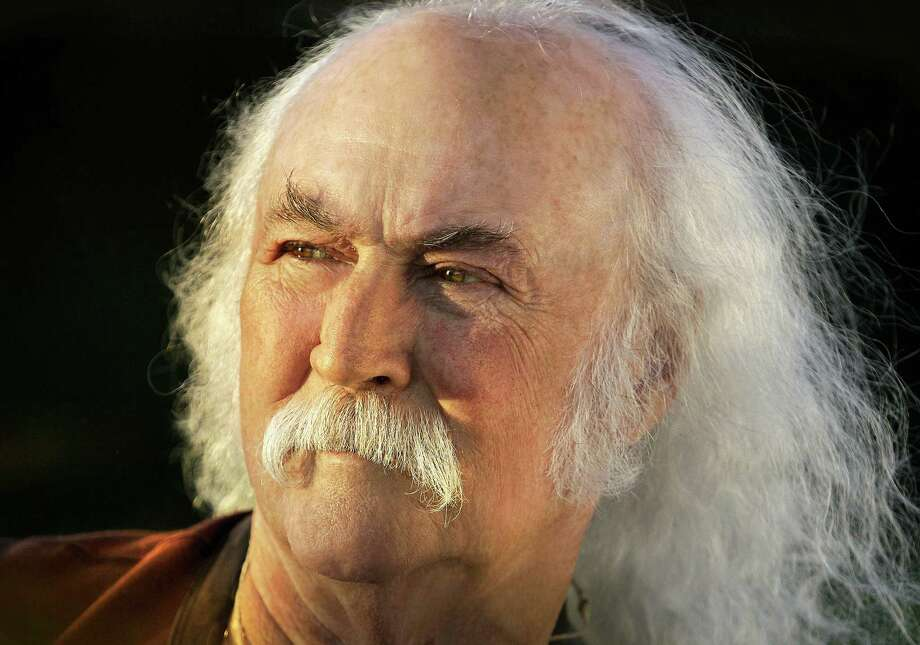 "Folk singer David Crosby is promoting ""Croz,"" his first solo album since 1993. Photo: Courtesy Django Crosby / THE WASHINGTON POST"