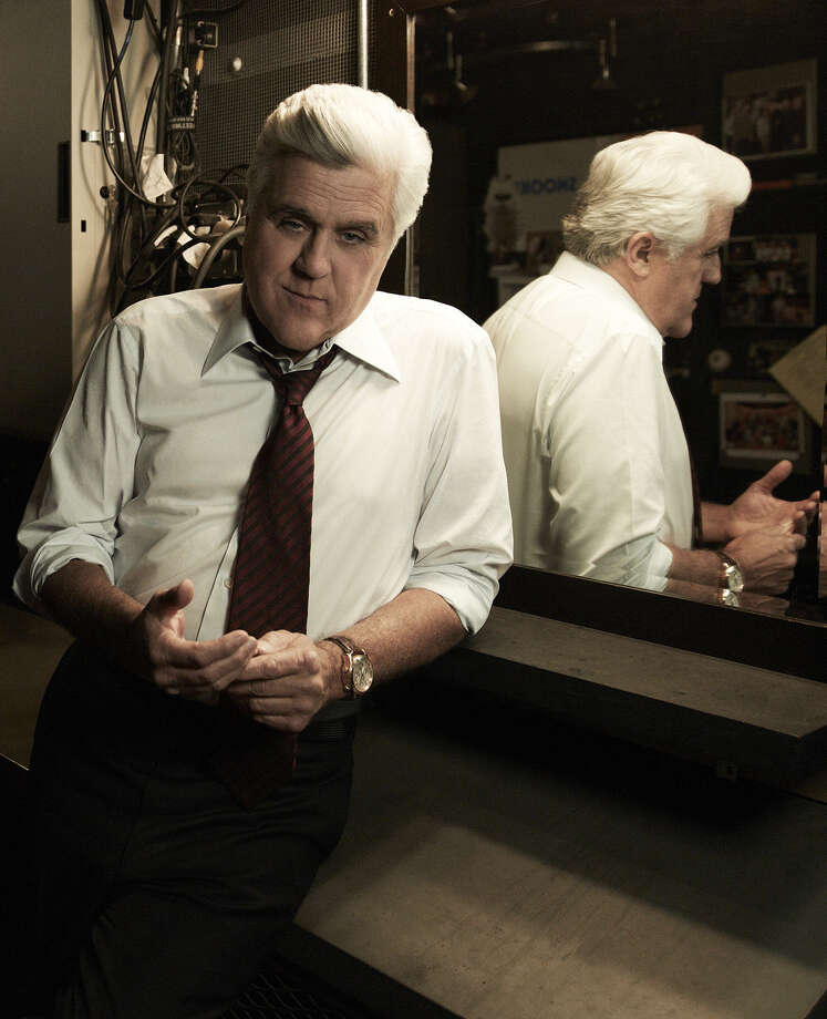 "Jay Leno says goodnight to ""The Tonight Show"" on Thursday. Photo: Jeff Riedel / NBC / 2012 NBCUniversal Media, LLC"