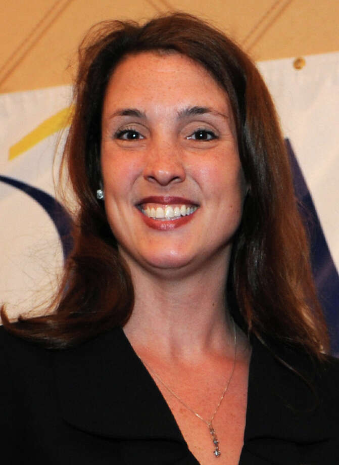 Kelly Wade Bettuchi, Director of External & Legislative Affairs for AT&T, delivered the keynote address at the Bridgeport Regional Business Council's annual Legislative Breakfast. Photo: File Photo / Connecticut Post File Photo