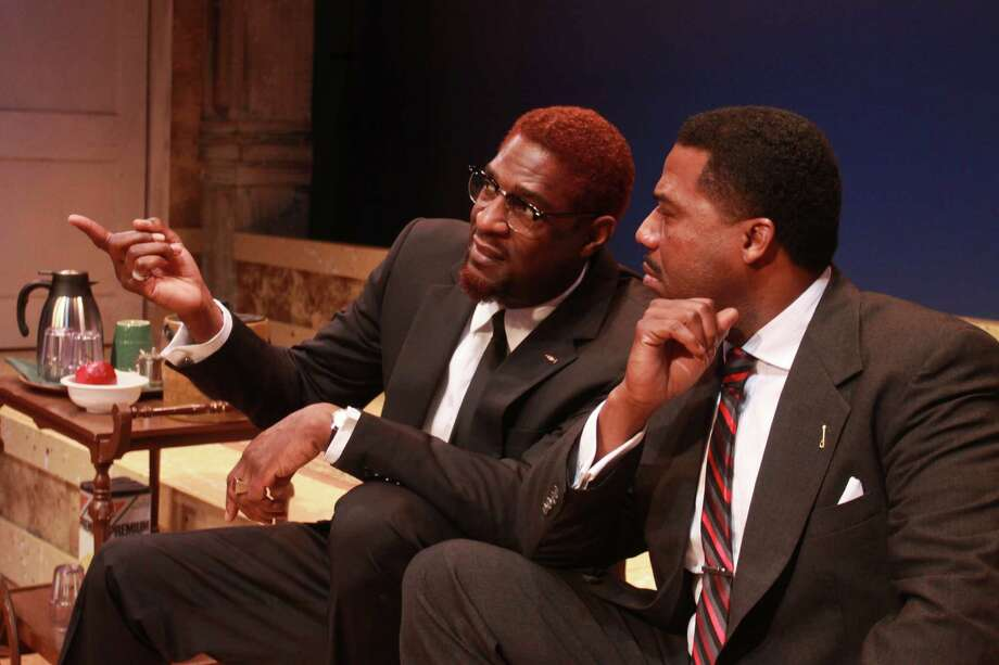 Jeff Stetson's play depicts a hypothetical meeting between Martin Luther King and Malcolm X, comparing their different approaches for advancing civil rights. 7:30 p.m. Wednesdays, 8 p.m. Fridays-Saturdays, 2 and 8 p.m. Saturdays, 3 p.m. Sundays, through Feb. 23; The Ensemble Theatre, 3535 Main; $19-$44; 713-520-0055, ensemblehouston.com. Photo: Gary Fountain, Freelance / Copyright 2014 Gary Fountain.