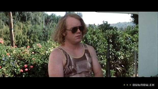 "One of Philip Seymour Hoffman's first movie roles was ""Boogie Nights"" in 1997. Photo: New Line 1997"