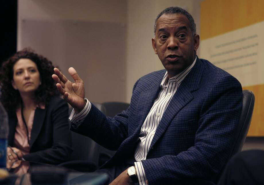 John Thompson, head of Symantec in 2006, is set to become the chairman of Microsoft's board. Photo: Kim Komenich, SFC