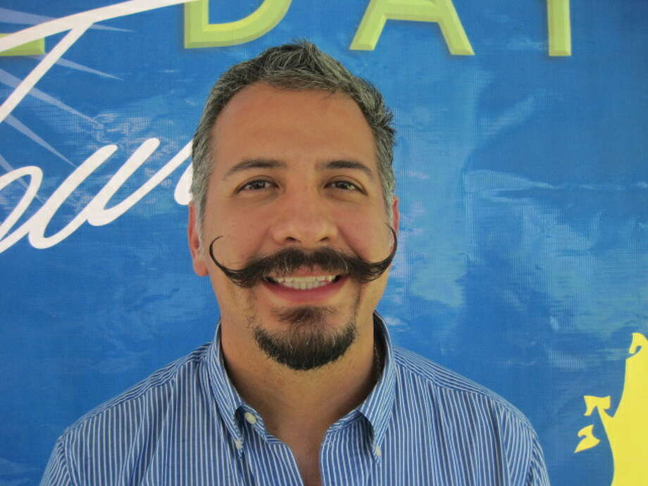 Ricardo Ruiz, the winner of the best facial hair in the country from Wahl Grooming Photo: Wahl Grooming