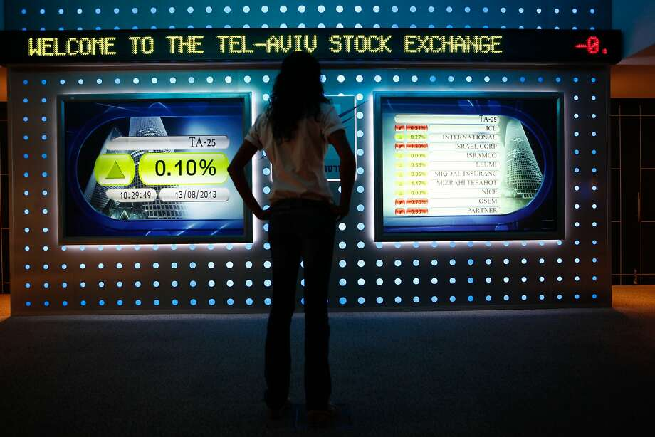Regulation and a lack of access to investors are driving companies away from Israel's Tel Aviv Stock Exchange, with Israeli startups fleeing the country to sell shares abroad at the fastest pace in six years. Photo: Ariel Jerozolimski, Bloomberg