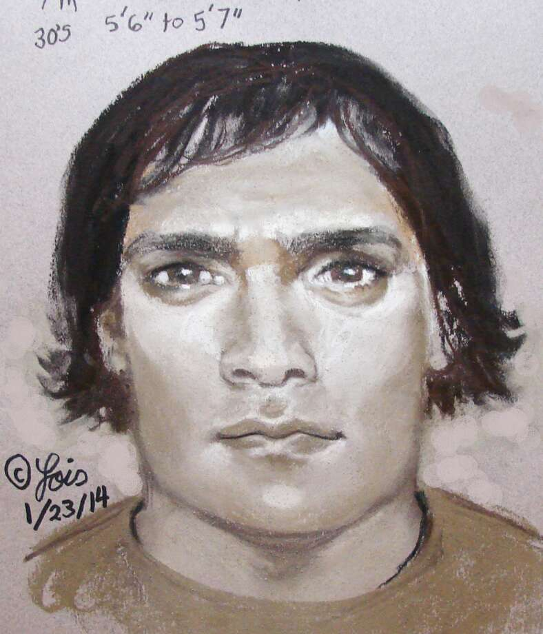 This is a composite sketch of the suspect accused in the killing of Merlyn Yolibeth Perez-Orellana near her daughter's school. (HPD)
