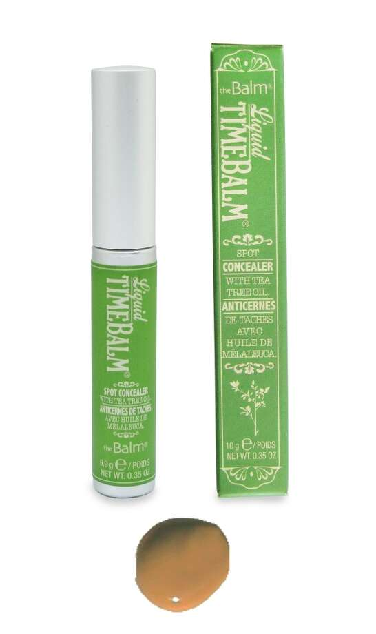 Liquid Timebalm.This dual-personality concealer and spot-treatment is only available in theBalm's Mission District flagship, but we have a feeling it's only a matter of , ah-hem, time, before this Timebalm becomes a major must-have. Here's why: Shipman added natural antibacterial tea tree oil, which clears spots without tell-tale pealing. Since it's a treatment, that means it can also be worn to formerly makeup unfriendly environments (the bed, the gym, the weekend grocery run). $20 (Shown: Honey) Photo: TheBalm Cosmetics