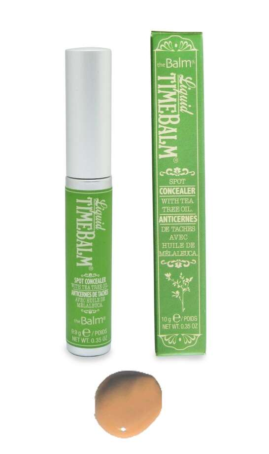Liquid Timebalm.This dual-personality concealer and spot-treatment is only available in theBalm's Mission District flagship, but we have a feeling it's only a matter of , ah-hem, time, before this Timebalm becomes a major must-have. Here's why: Shipman added natural antibacterial tea tree oil, which clears spots without tell-tale pealing. Since it's a treatment, that means it can also be worn to formerly makeup unfriendly environments (the bed, the gym, the weekend grocery run). $20 (Shown: Nude) Photo: TheBalm Cosmetics