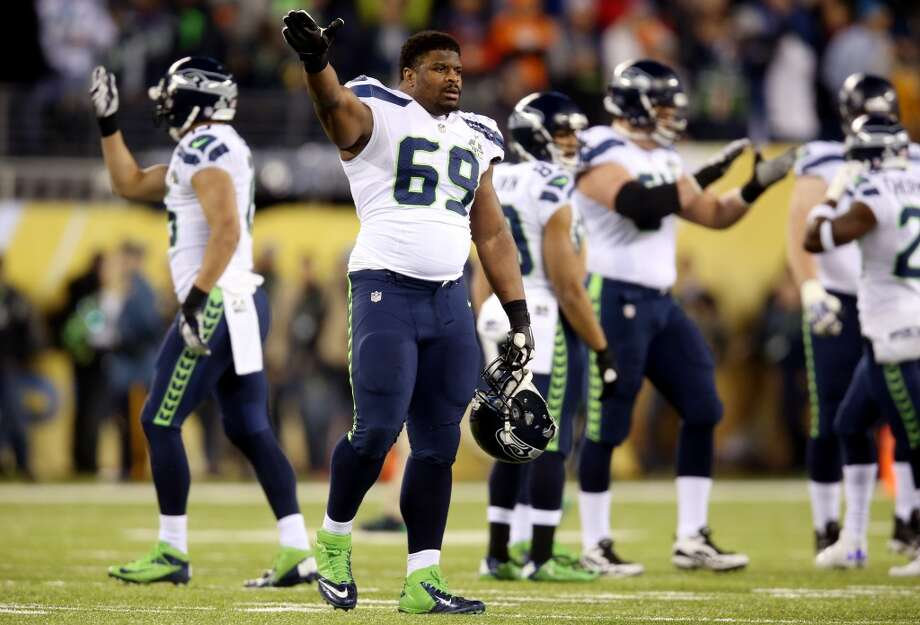 3. How to the Seahawks preserve their depth on D? If Clemons and Bryant leave, it makes it all the more important for the Hawks to reestablish their depth on the d-line, which was a key factor in the team's Super Bowl run this year. Tackles Clinton McDonald and Tony McDaniel are both unrestricted free agents, but look for the team to make a serious run at retaining at least McDonald, who was a  tremendous inside pass-rushing threat this season. Promising youngsters like rookies Jordan Hill, Jesse Williams and Benson Mayowa – the breakout star of the Hawks' 2013 preseason – should all be back, so expect them to content for playing time with Clemons and/or Bryant out of the picture. Photo: Jeff Gross, Getty Images