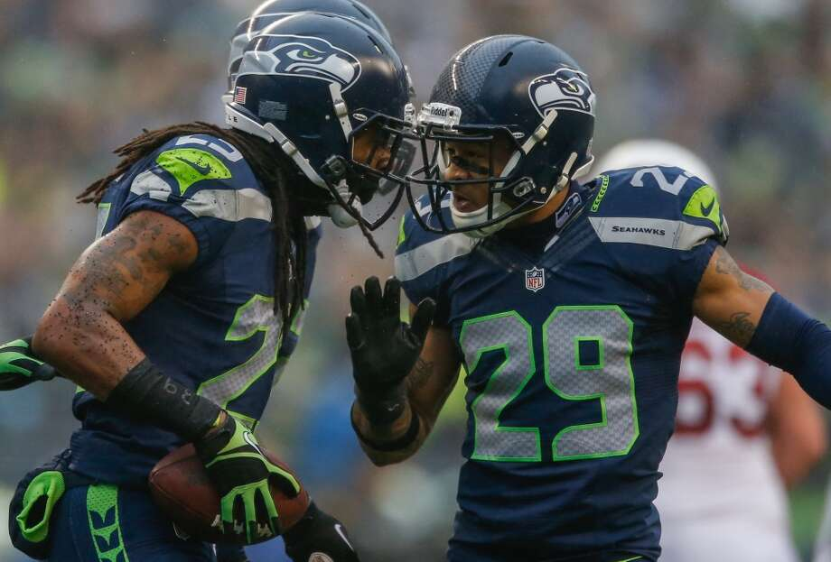 8. Do the Hawks have to choose between Richard Sherman and Earl Thomas?Ultimately, the team will be cutting salaries next season with these two in mind. After playing at All-Pro levels through their rookie contracts and being widely considered among the tops in the NFL at their positions, Sherman and Thomas will each command a king's ransom.Is there enough room for the two of them?It could be tough. How does Sherman not demand something between Darrelle Revis' 6-year, $96 million deal in Tampa Bay and the five-year, $50.1 million contract signed by the Cowboys' Brandon Carr – Brandon Carr!!! – in 2012? Thomas has earned a significant upgrade from his current $4.63 million salary. After investing $34 million in safety Kam Chancellor last offseason, how much can Seattle really afford to pay for the best secondary in the NFL? Photo: Otto Greule Jr, Getty Images