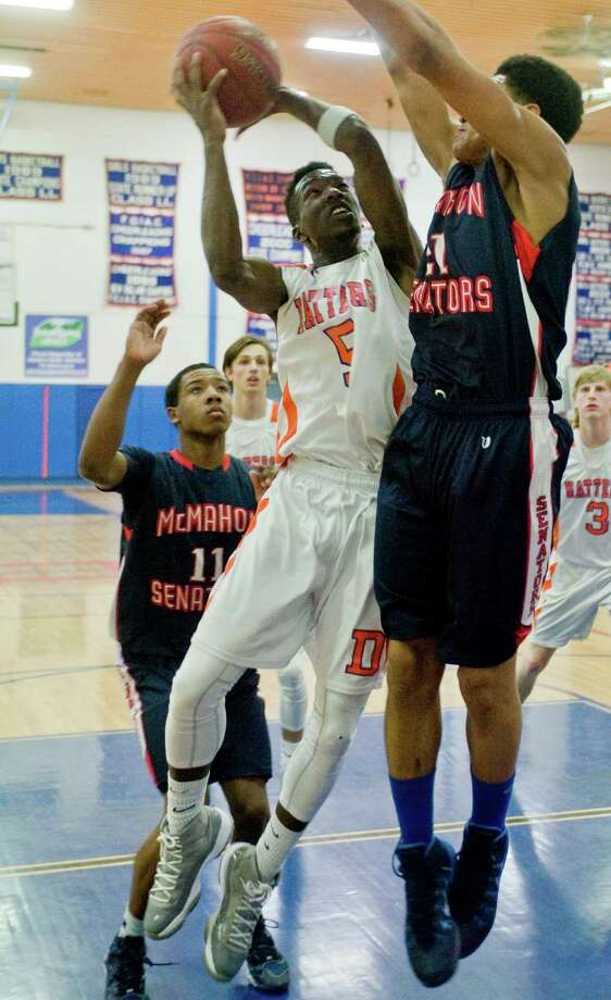 C.J. White, Danbury. FCIAC Second Team. Photo: Scott Mullin / The News-Times Freelance