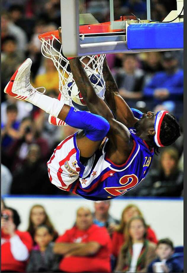The Harlem Globetrotters played against the World All Stars at Ford Park Tuesday. Michael Rivera/michaelrivera88
