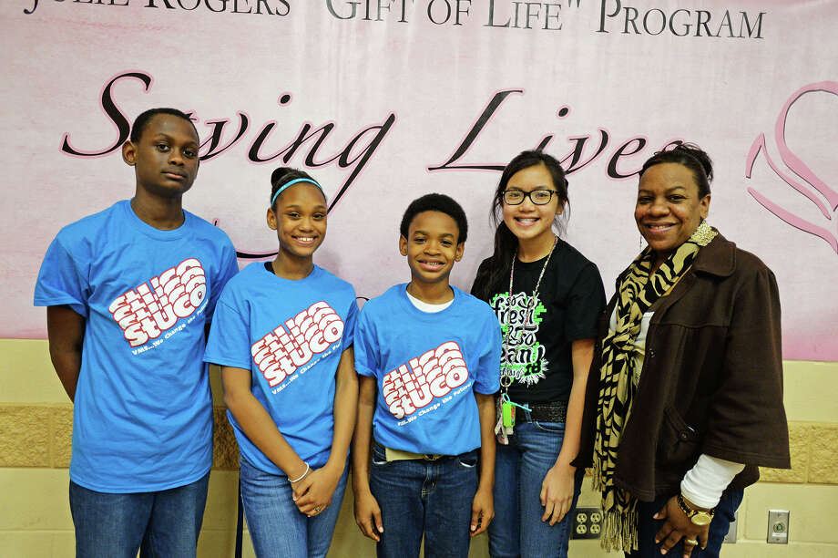 "Were you 'seen' at the Julie Rogers ""Gift of Life"" program Tuesday?"