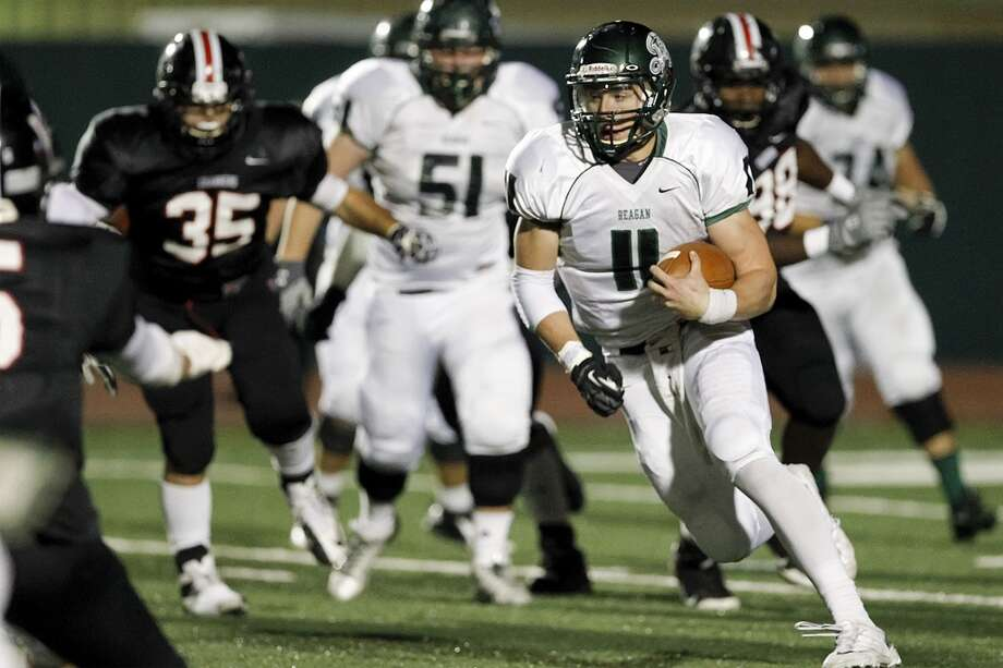 14. Ty Summers, Reagan: ATH, 6-2, 215, TCU Photo: MARVIN PFEIFFER, San Antonio Express-News