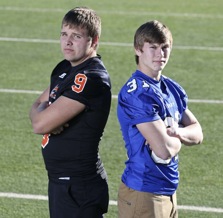 20. Zach Sinor, Medina Valley (left): P, 5-11, 210, Oklahoma State Photo: Edward A. Ornelas, San Antonio Express-News