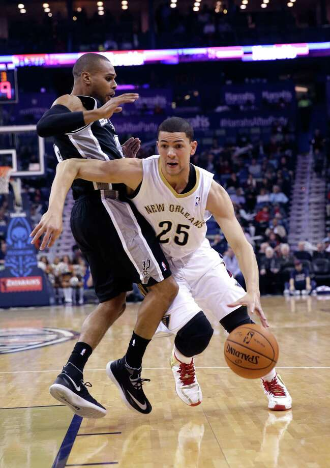 ... and Austin Rivers.... most notably his son, Austin, who plays for the New Orleans Pelicans. Photo: Gerald Herbert, Associated Press / AP