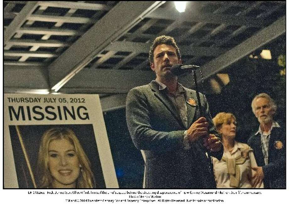 'Gone Girl', starring Ben Affleck and Rosamund Pike, is based on Gillian Flynn's twisty, noirish thriller of 2012.