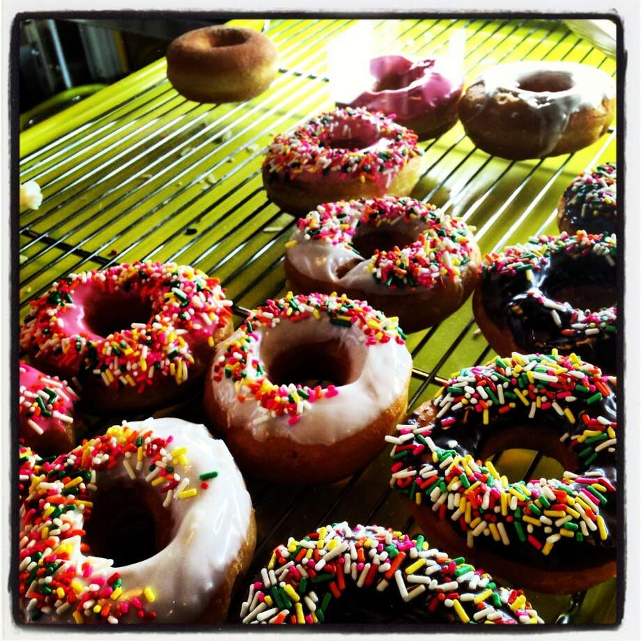 Vinny's Donuts opened late January in the Atlee B. Ayres Building, 124 Broadway.