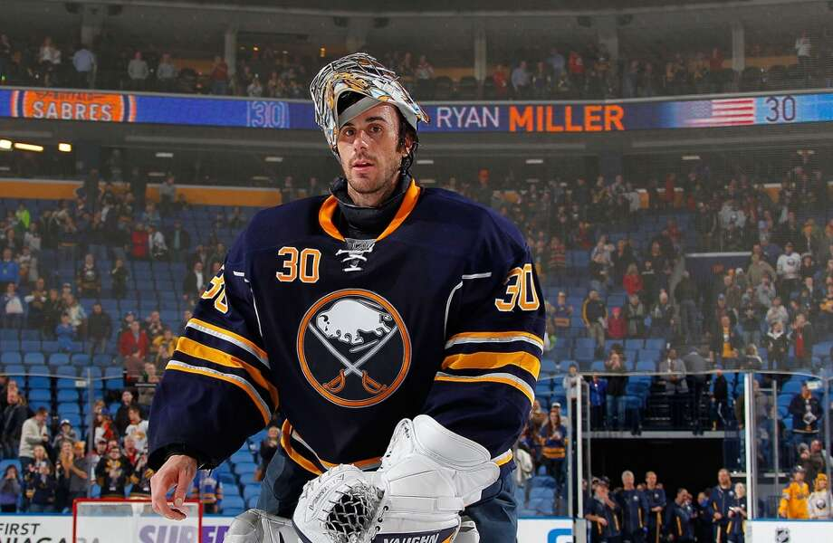Ryan MillerIce hockeyEast Lansign, Mich.Miller has established himself as one of the best goaltenders in the NHL, and he is currently in his 12th professional season. He holds the Buffalo Sabres' all-time mark for wins and played a key role on the silver medal-winning 2010 U.S. Olympic Men's Ice Hockey Team, earning tournament MVP honors in the process.@RyanMiller3039 Photo: Bill Wippert, NHLI Via Getty Images