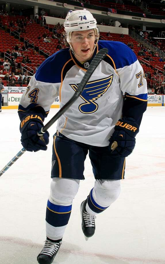 T.J. OshieIce hockeyWarroad, Minn.Oshie has shown his ability to be a dynamic playmaker in the NHL during his six seasons with the St. Louis Blues. Because of his offensive skill, he's helped the Blues become a serious Stanley Cup threat.@OSH74 Photo: Gregg Forwerck, NHLI Via Getty Images