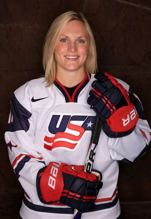 Jocelyne LamoureuxIce hockeyGrand Forks, N.D.Along with her twin sister, Monique Lamoureux, the well-rounded forward and 2010 Olympian is looking to top the podium after previously winning the silver medal in Vancouver. Coming off very successful senior seasons at the University of North Dakota, the twins have helped the U.S. capture three world titles, including two in the last three years.@JocelyneUSA17 Photo: Getty Images
