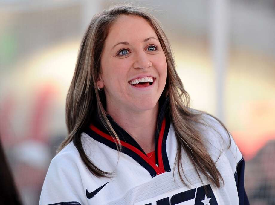 Meghan DugganIce hockeyDanvers, Mass.In addition to being a leader and captain for Team USA, Duggan is one of the most well-rounded and intense players on the squad. She is one of 11 returning veterans from the 2010 Olympic Team, serving in her first Olympic captaincy role. @mduggan10 Photo: Getty Images For USOC