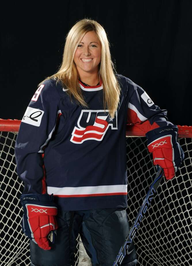Gigi MarvinIce hockeyWarroad, Minn.Marvin is one of 11 returning Olympians who earned the silver medal in 2010, though switched from forward to defense since that time. A puck-moving defenseman, she has a strong shot from the point and offensively creates chances off the rush. @GigiMarvin Photo: Tom Dahlin, Getty Images