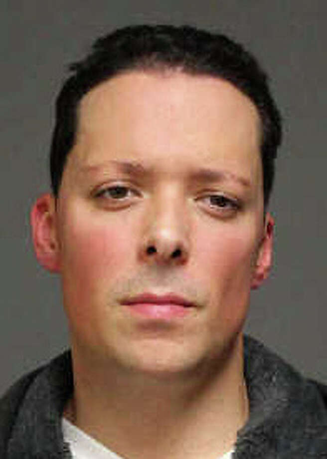 Jason Oliveira of Congress Street faces assault and racial bias charges after what police called a road rage incident Tuesday night on Black Rock Turnpike. Photo: Fairfield Police Department / Fairfield Citizen contributed