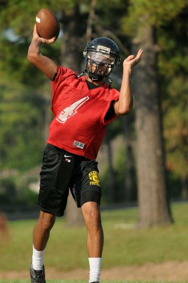 QB Jordan Davis  Height/weight: 6-4, 163  High school: Klein Oak   College: La.-Lafayette Photo: Jerry Baker, For The Chronicle