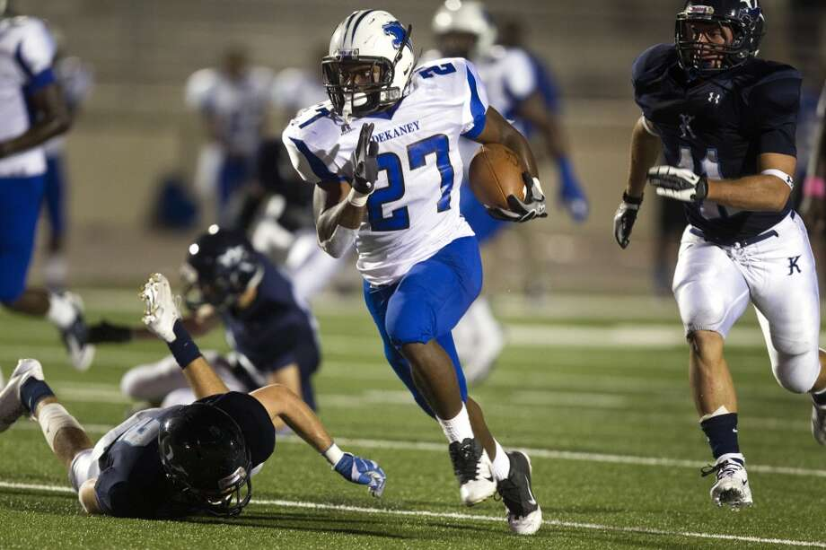 RB Demarcus Felton   Height/weight: 5-7, 179   High school: Dekaney   College: Texas Tech  Photo: J. Patric Schneider, For The Chronicle