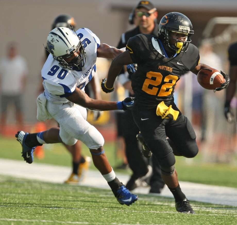 RB Larenzo Stewart   Height/weight: 5-6 165   High school: Klein Oak   College: Nebraska  Photo: Eric Christian Smith, For The Chronicle