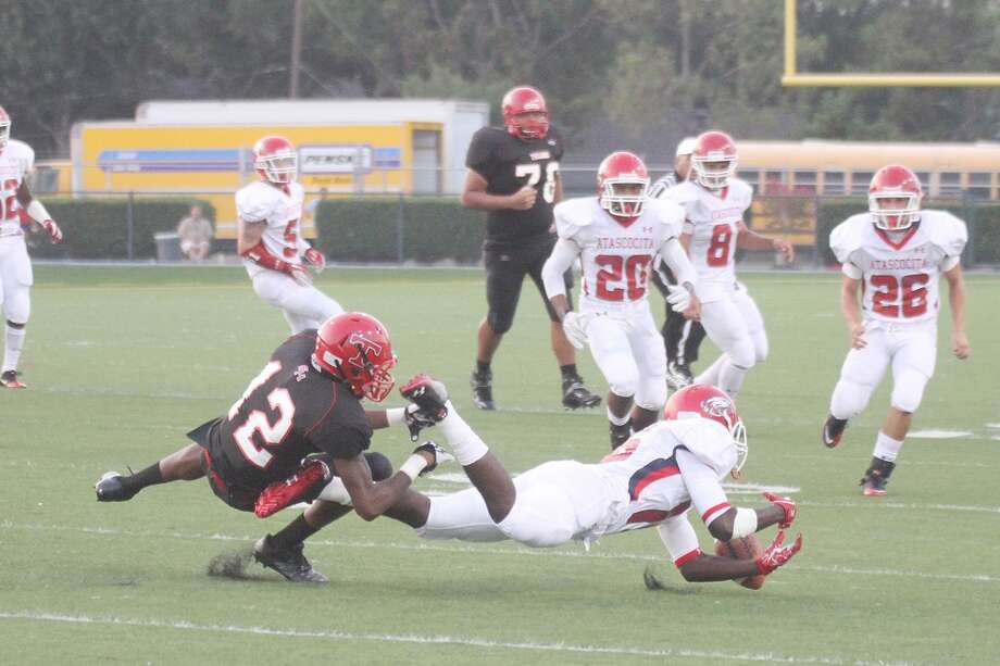 WR Elton Dyer (12)  Height/weight: 6-3, 195  High school: South Houston  College: Houston Photo: Pin Lim, For The Chronicle