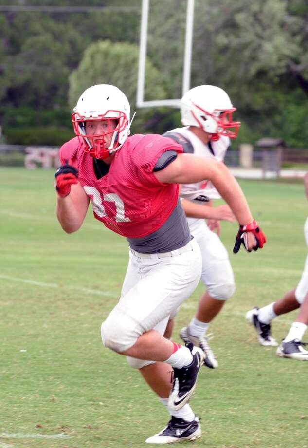 TE Logan Lister  Height/weight: 6-5, 240   High school: Katy  College: Rutgers  Photo: Eddy Matchette, For The Chronicle