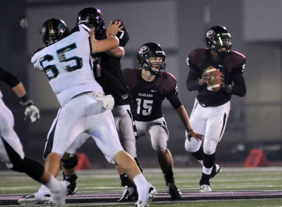 OL Ryan Griswold   Height/weight: 6-5, 255  High school: Pearland  College: TCU Photo: Jerry Baker, For The Chronicle