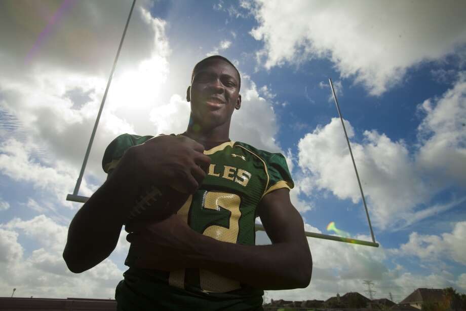 LB Otaro Alaka   Height/weight: 6-3, 210   High school: Cypress Falls   College: Texas A&M  Photo: Eric Kayne, For The Chronicle
