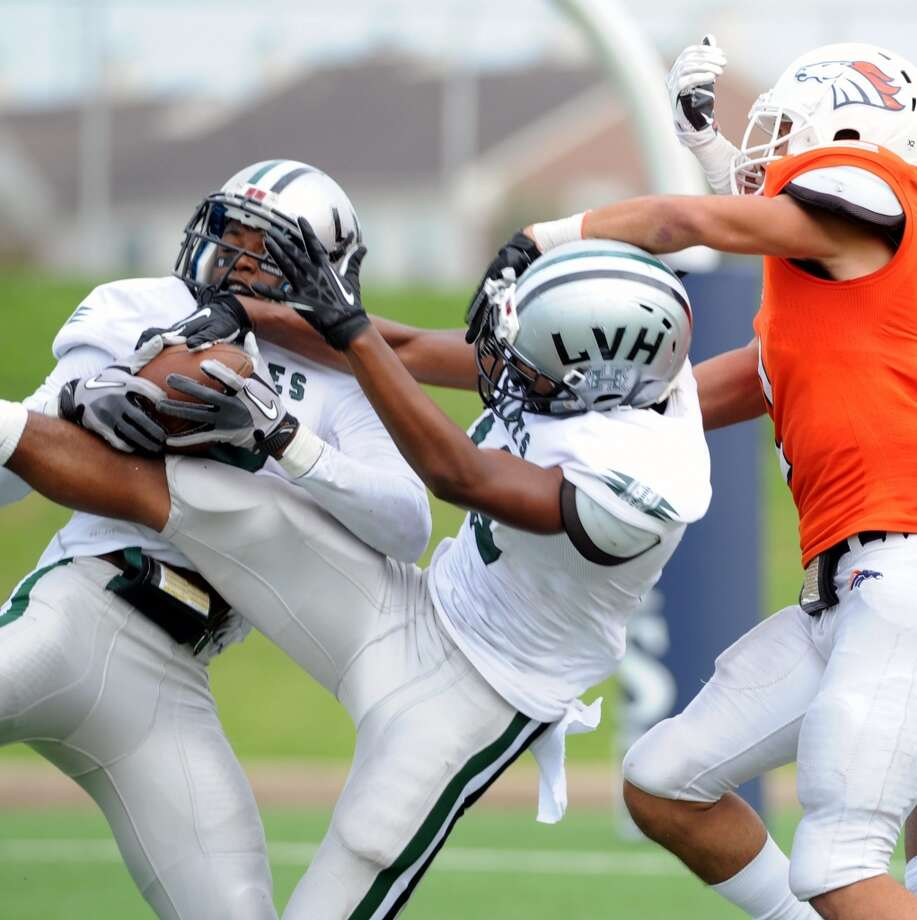 DB Khalil Williams   Height/weight: 6-0, 180  High school: Hightower   College: Houston  Photo: Eddy Matchette, For The Chronicle
