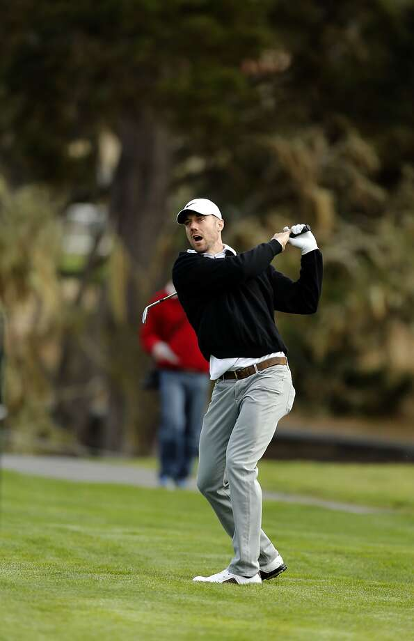 Alex Smith is playing in the AT&T Pebble Beach National Pro-Am this week. Photo: Michael Macor, The Chronicle