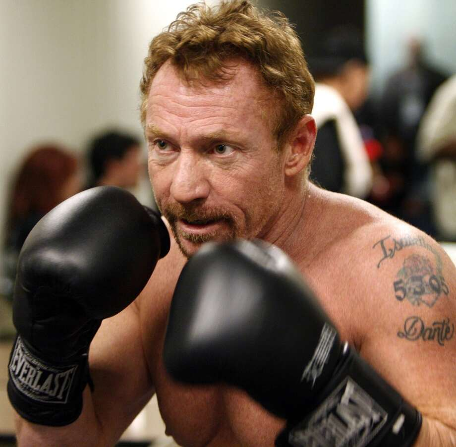 Danny Bonaduce warms up before a celebrity boxing match against former baseball player Jose Canseco on Saturday, Jan. 24, 2009 in Aston Pa. (AP Photo/ Joseph Kaczmarek) Photo: Joseph Kaczmarek, AP