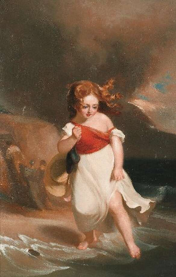 """Child on the Sea Side,"" 1828. Photo courtesy of the San Antonio Museum of Art."