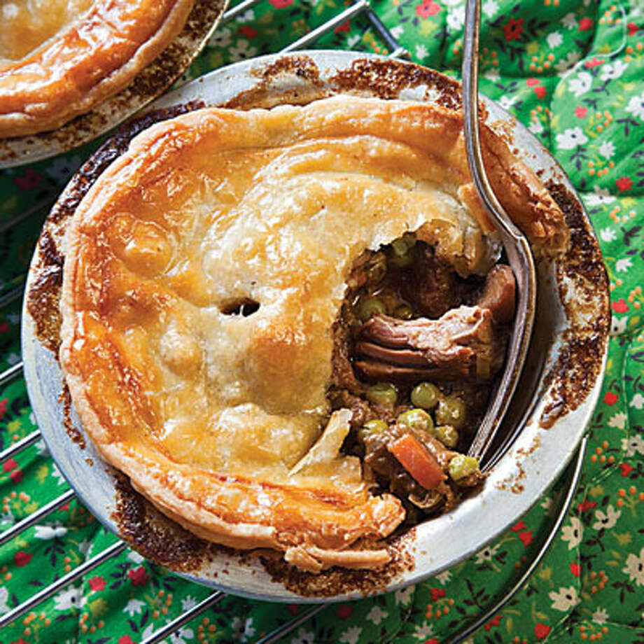 steak and stilton pie (saveur.com)