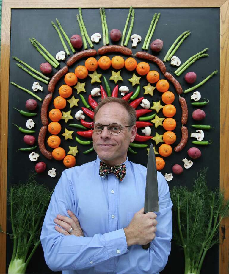 Food Network star Alton Brown will bring his mix of science, food and fun to Proctors with his live show on Feb. 13. (Courtesy Alton Brown)