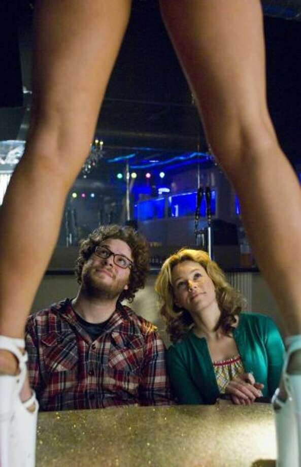 "Zack and Miri Make a Porno (2008) Kevin Smith wrote and directed this ""romantic sex comedy"" about Zack and Miri (Seth Rogen, Elizabeth Banks), deep-in-debt friends who decide making a porno is the solution to their money problems. The critics' take: 65% approval rating on Rotten Tomatoes. (Photo By Darren Michaels/AP)"