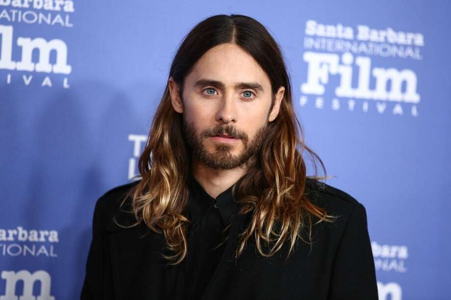 The actor and 30 Seconds to Mars frontman at the Santa Barbara Film Festival in 2014.