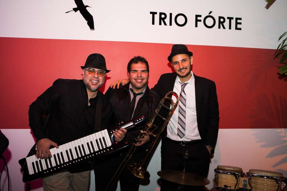 Trio Forte (Rangel Morao, Lucio Alvarez and Charlie Perez) pose during Martini Madness Photo: Michael Starghill, Jr.