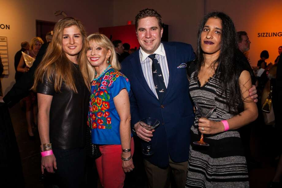 Sara Claire Chambless, Nancy Nation, Jose Noyes, Jr. and Shabana Qaiser .) Photo: Michael Starghill, Jr.