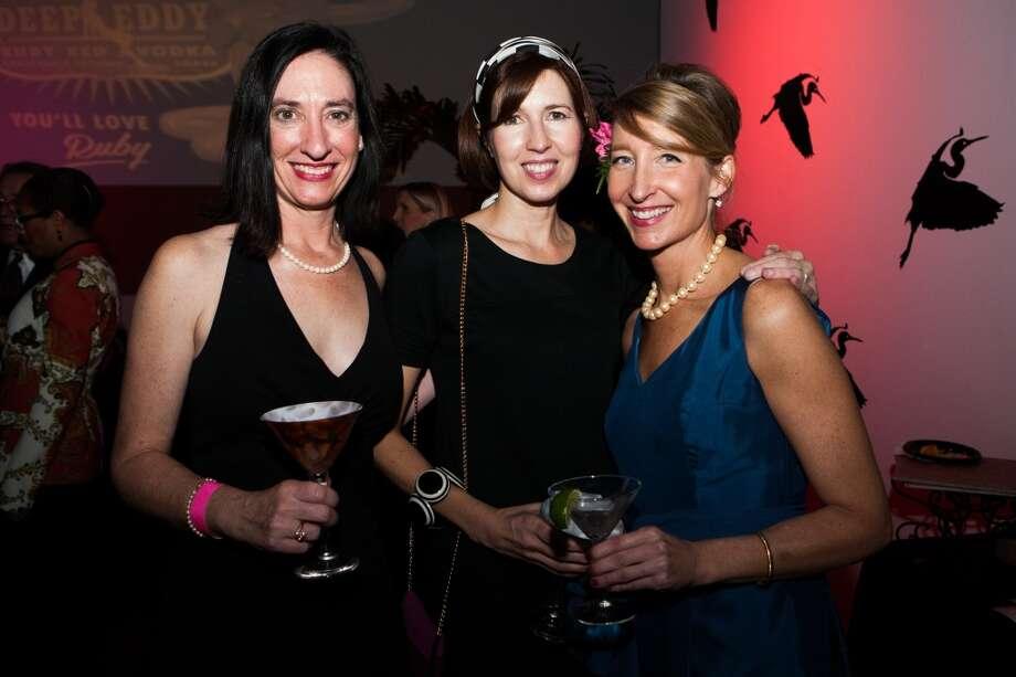 Ashley Watson, Helen Brauner and Mary Headrick Photo: Michael Starghill, Jr.