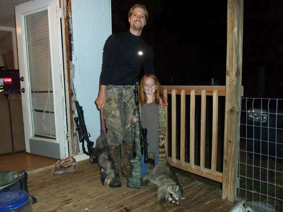 Photos 2014: Houston kids who know how to shootBriana Smith of Buckholts, Texas, with her first raccoon. This photo was submitted by her great-uncle, Vernon Eldridge.