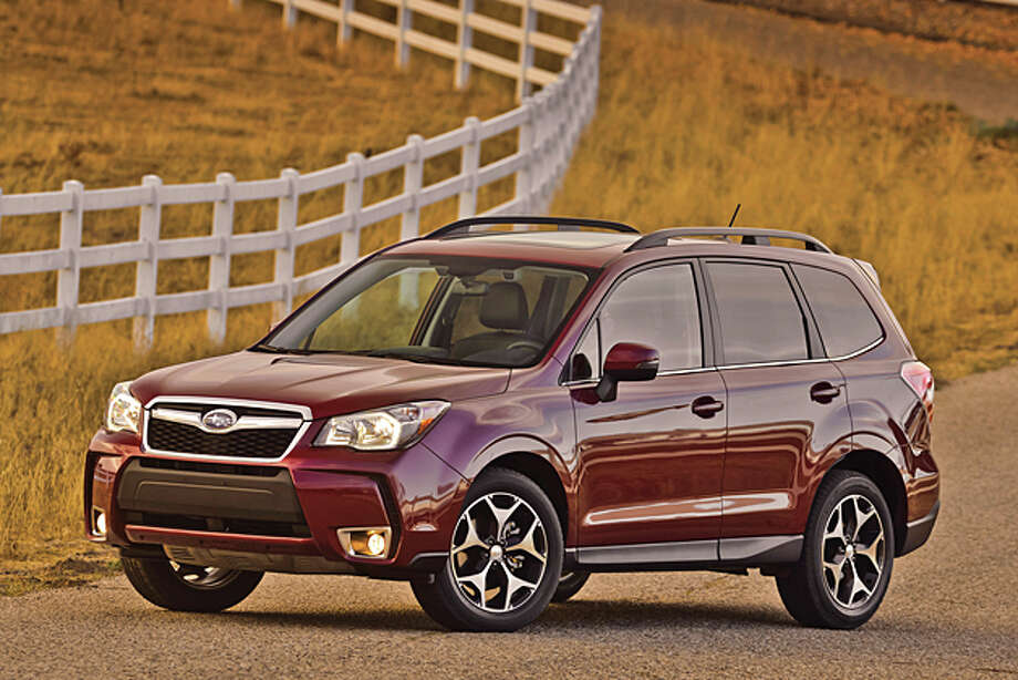 Best Small SUV:2014 Subaru ForesterSource: Consumer Reports