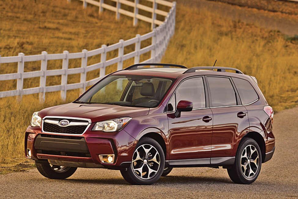 2014 Subaru Forester (photo courtesy Subaru)