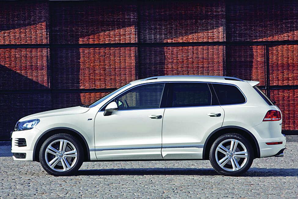 2014 Volkswagen Touareg TDI Executive (photo courtesy VW)