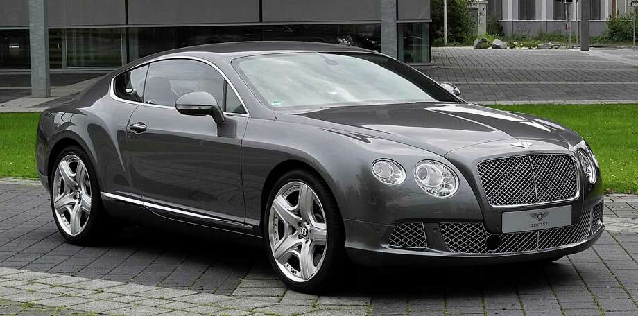 Five of the top 10 most expensive cars in Darien are a Bentley Continental. Photo: Contributed Photo, Contributed / Darien News Contributed